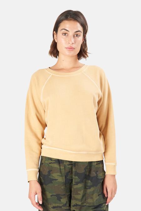 NSF Shawnee Vintage Inspired Crew Sweater - Pigment Brass