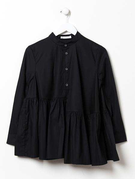 Peter Jensen Asymmetric Frill Smock Shirt