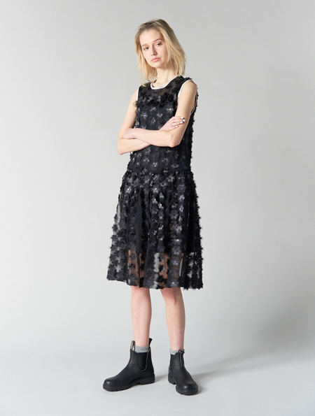 Peter Jensen Floral Net Dress