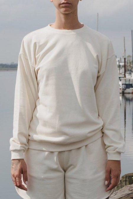 Baserange Loose Sweatshirt - Off White