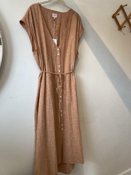 Morningtide LOOP Esby Dress - Brown