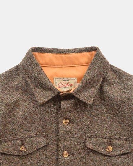 Dehen Crissman Overshirt - Camo Tweed