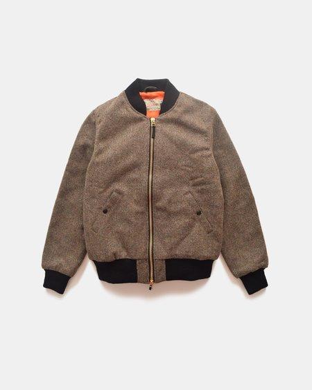 Dehen Flyer's Club Jacket - CAmo Tweed/Black