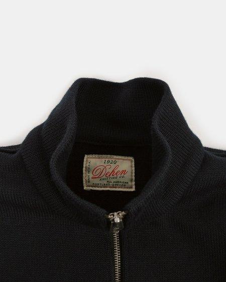 Dehen Motorcycle Sweater - Black