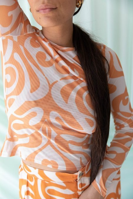 Find Me Now Dream On Mesh Find Me Now- Creamsicle Swirl