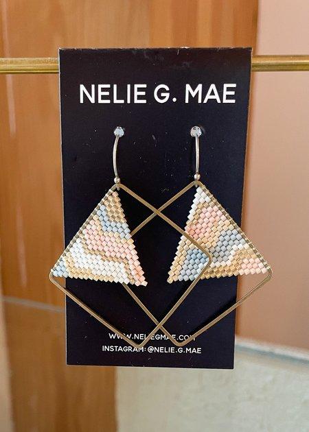 Nelie G Mae Brass Squares