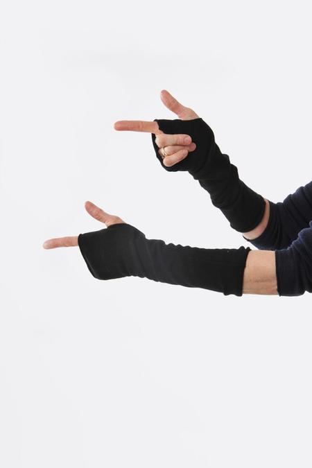 Oyuna Lecca Fingerless Gloves - black