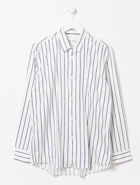 Our Legacy Bold Stripe Initial Shirt