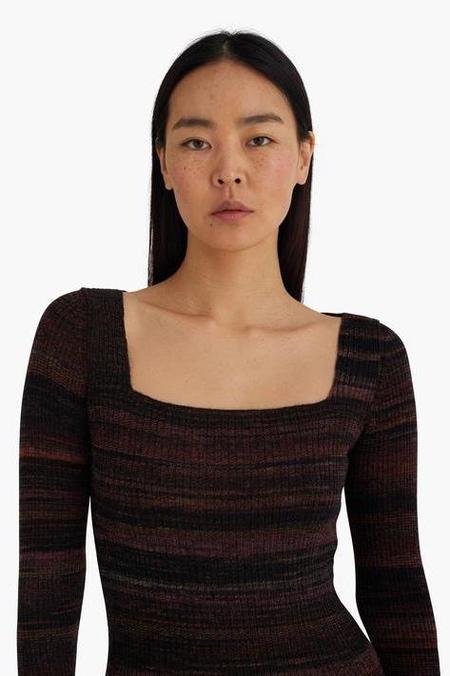 Paloma Wool Marcela Knit Dress - Black