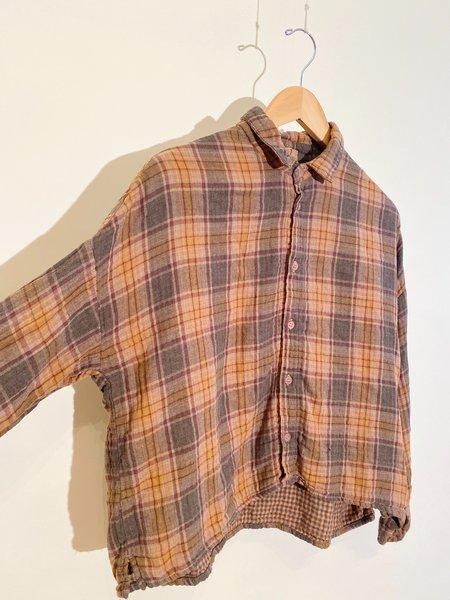 CP SHADES Ramona Plaid Shirt - Suede