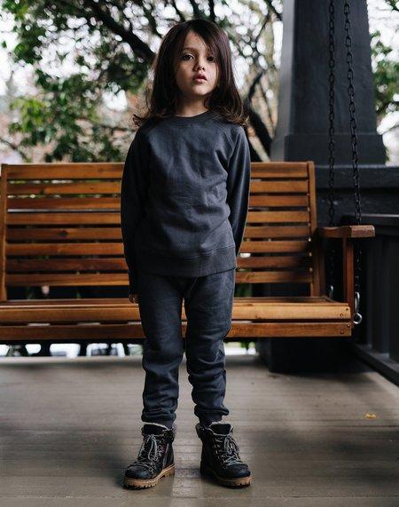 Kids Noble Organic Sweatshirt - Charcoal