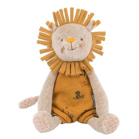 Moulin Roty Sous Mon Baobab Musical Paprika The Lion Toy - Yellow
