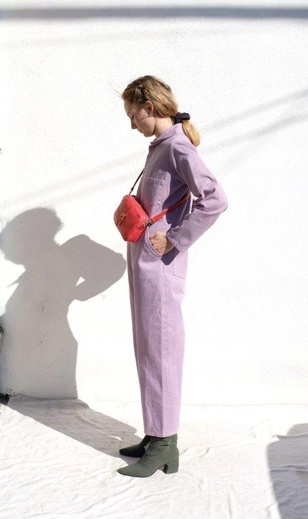 Clare V. Gigi Bag - Scarlet Pebble