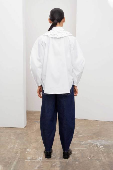 Kowtow Calder Shirt - WHITE