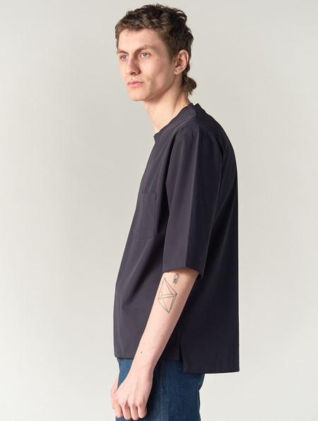 Stephan Schneider 3/4 Sleeve Charcoal Tee Tears
