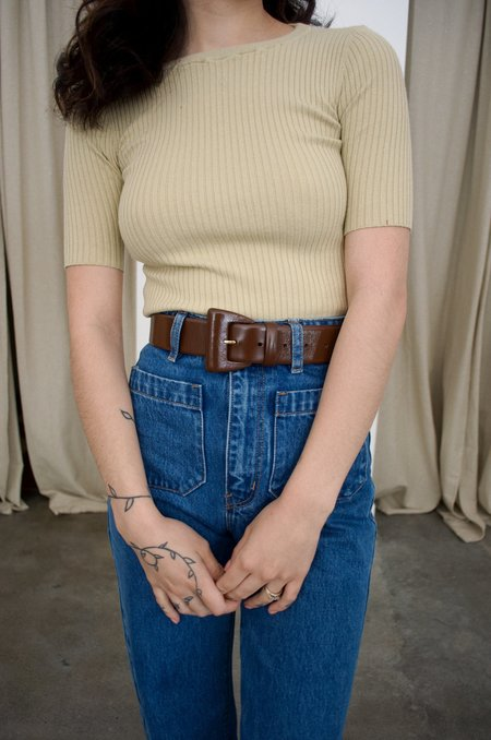 Paloma Wool Prosecco Belt - Brown