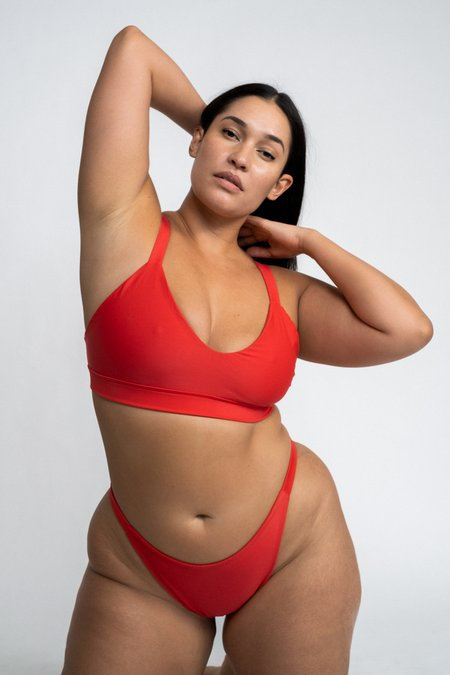 The Saltwater Collective Lucy Bottom - Red