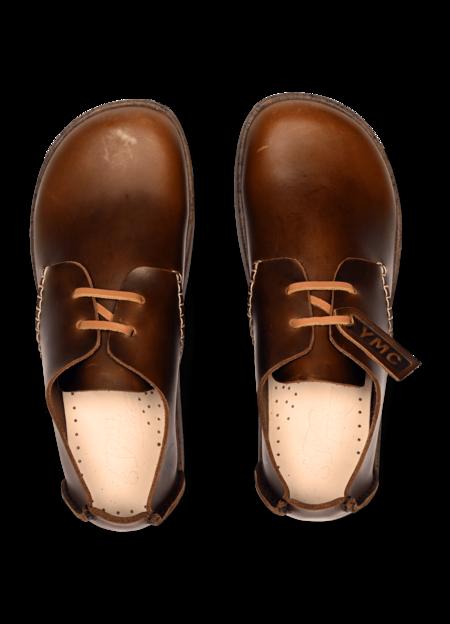 Yogi x YMC Women's Orson Leather Shoes - Brown