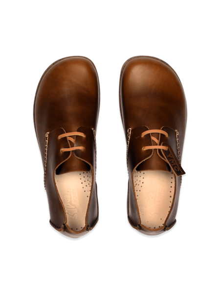 Yogi x YMC Men's Leather Orson Shoes - Brown