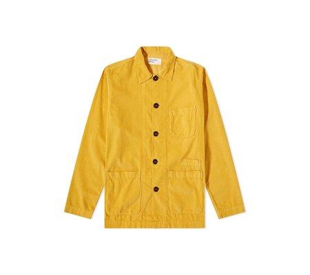 Universal Works Bakers Overshirt -  Mustard Fine Cord