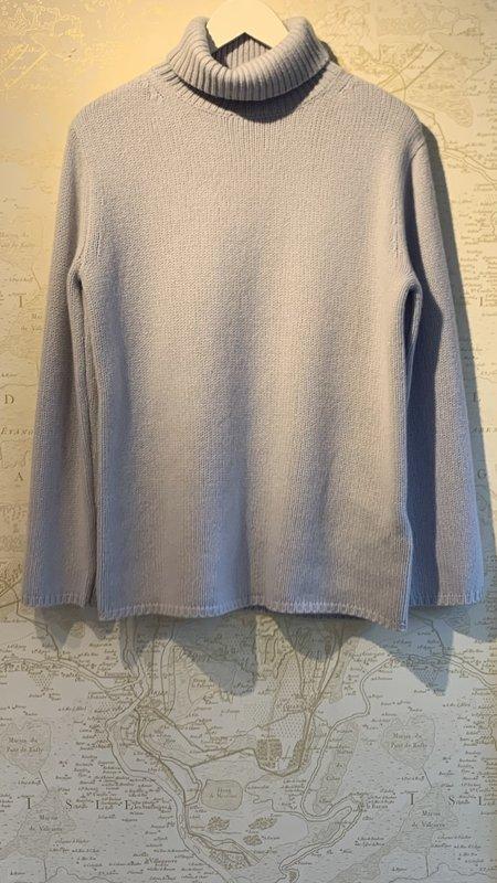 Joseph High Neck Cashmere Sweater - gray