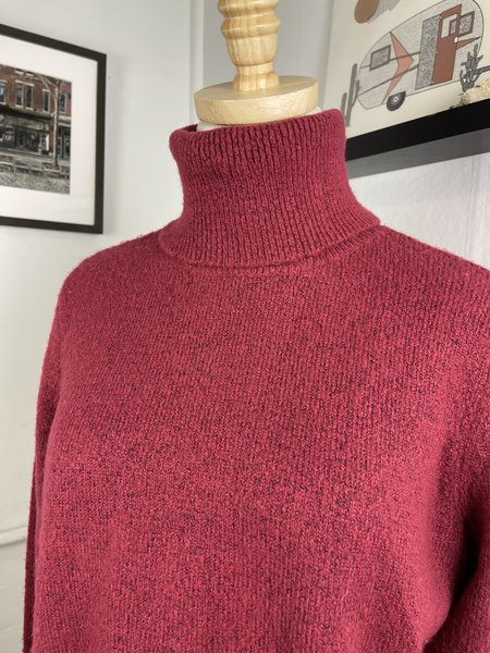 [PRE-LOVED] Joie Red Turtleneck Sweater -Red