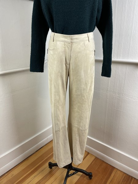 [PRE-LOVED] Marc Cain Nude Suede Pants