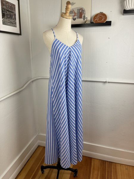 "Mr. Larkin Blue Stripe ""Nova Dress"""