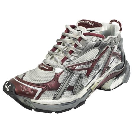 Balenciaga Runner white and burgundy Sneaker-Prints