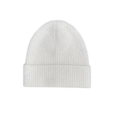 Micaela Greg Ribbed Hat - Cream