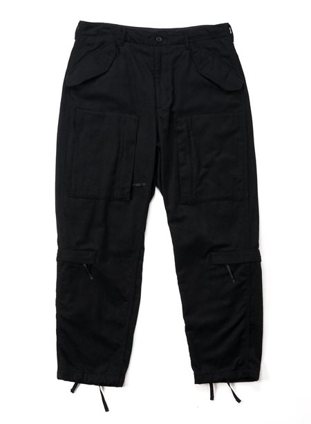 Engineered Garments  Wool Cotton Flannel Aircrew Pant - Black