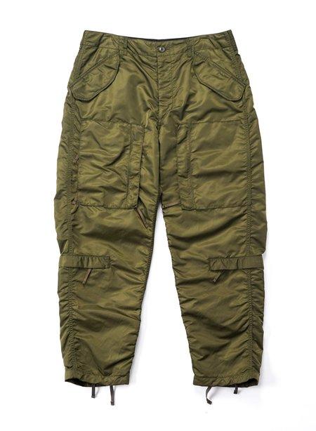 Engineered Garments Aircrew Flight Satin Nylon Pant - Olive
