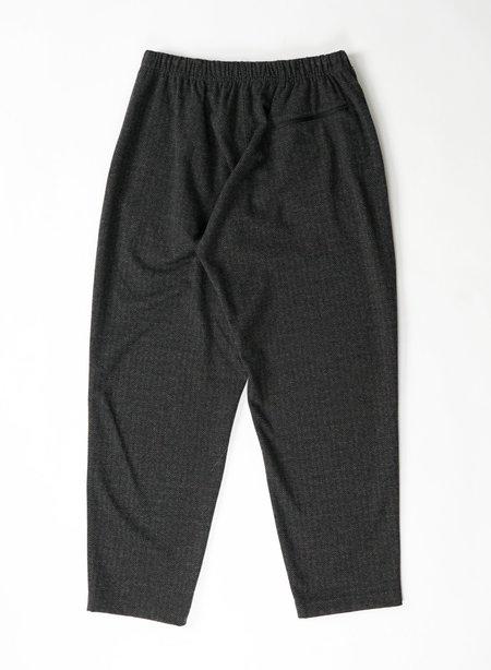 Engineered Garments Stretch Knit Herringbone Jog Pant - Charcoal
