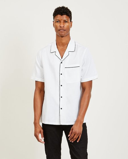 Ksubi Downtown Resort Shirt - White