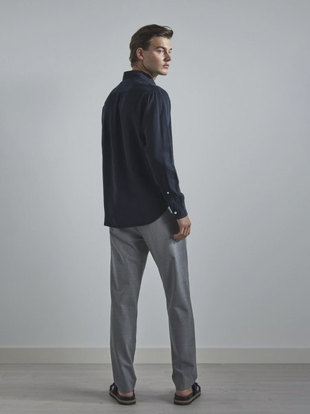 NN07 Levon Shirt - Navy Blue