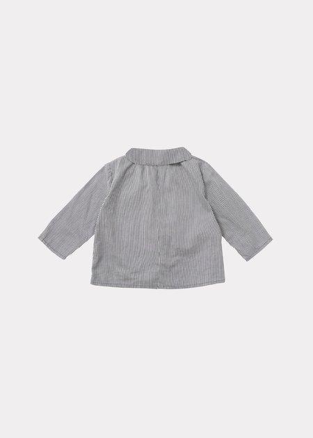 Kids Caramel Eos Baby Shirt - Navy Stripe