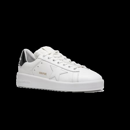 Golden Goose Purestar Leather Upper Men GMF00197.F000537.10283 sneakers - White/Black