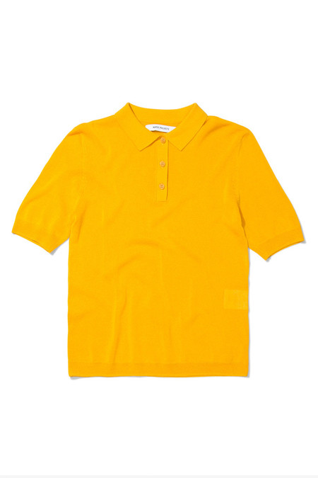 Norse Projects Majken Solid Polo | Yellow