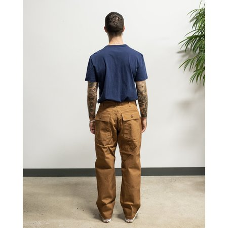 Engineered Garments Fatigue Pant - Brown 12oz Duck Canvas