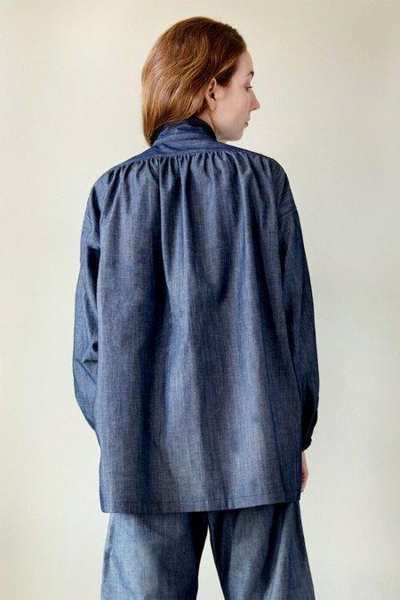 UQNATU Smock Shirt - Denim