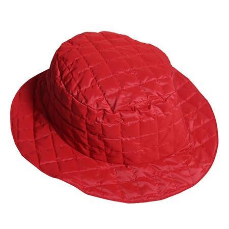 Kids  Tia Cibani Child Down Bucket Hat Big - Red