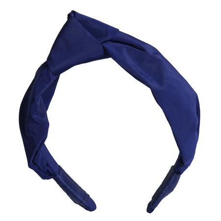 Kids Tia Cibani Jessica Top Knot Hairband - Licorice Blue