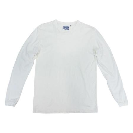 Unisex Jungmaven LS Jung Tee - Washed White