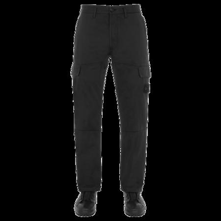 Stone Island Stretch Cotton Wool Satin Men MO7515312F2-V0029 Pants - Black