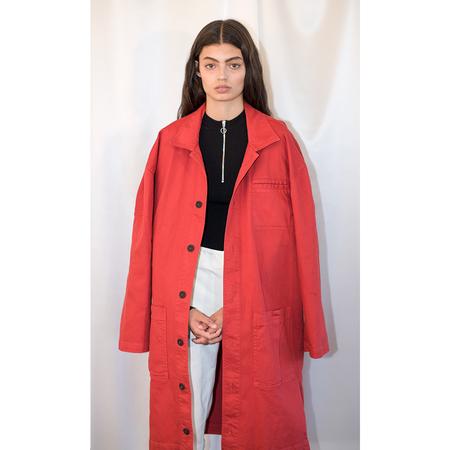 Pari Desai Reed Mid-Length Coat