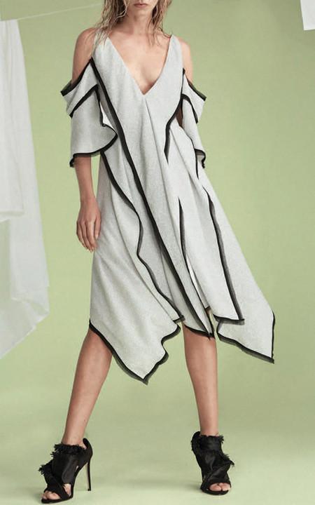 acler Claremore Cold Shoulder Dress