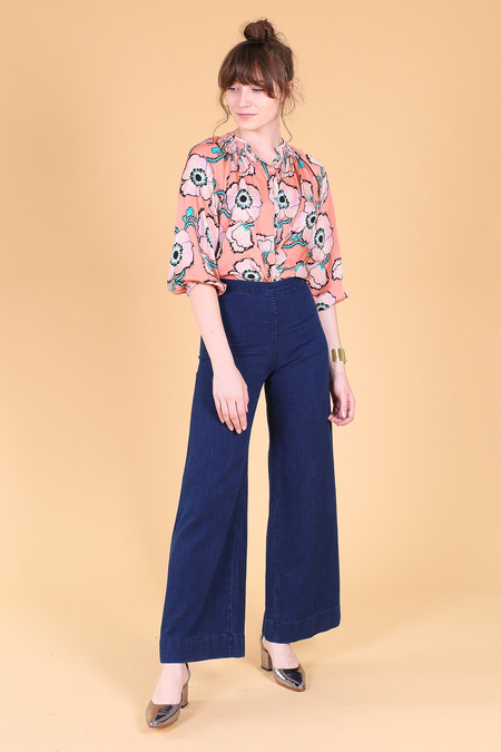 Tucker The Classic Blouse in Big Bloom