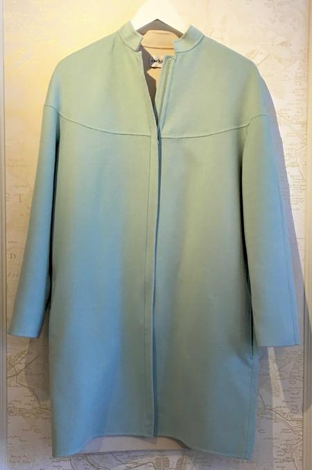 Cacharel Doubleface Cashmere Zip Coat