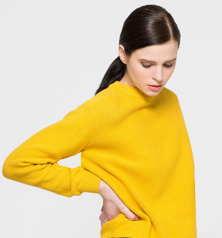 Kowtow Out of Sight Crew Yellow