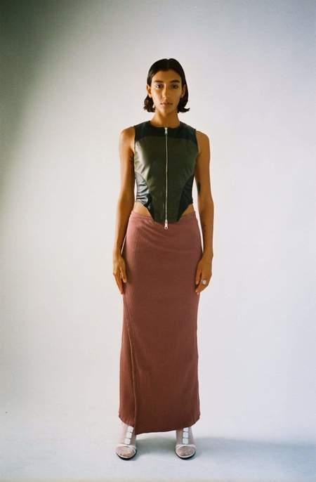Baserange Brig Skirt - Cuka Brown